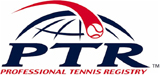 Logo de la certification de la Professional Tennis Registry